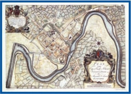 The Admiralty Collection - Plan of the City & Castle of Chester